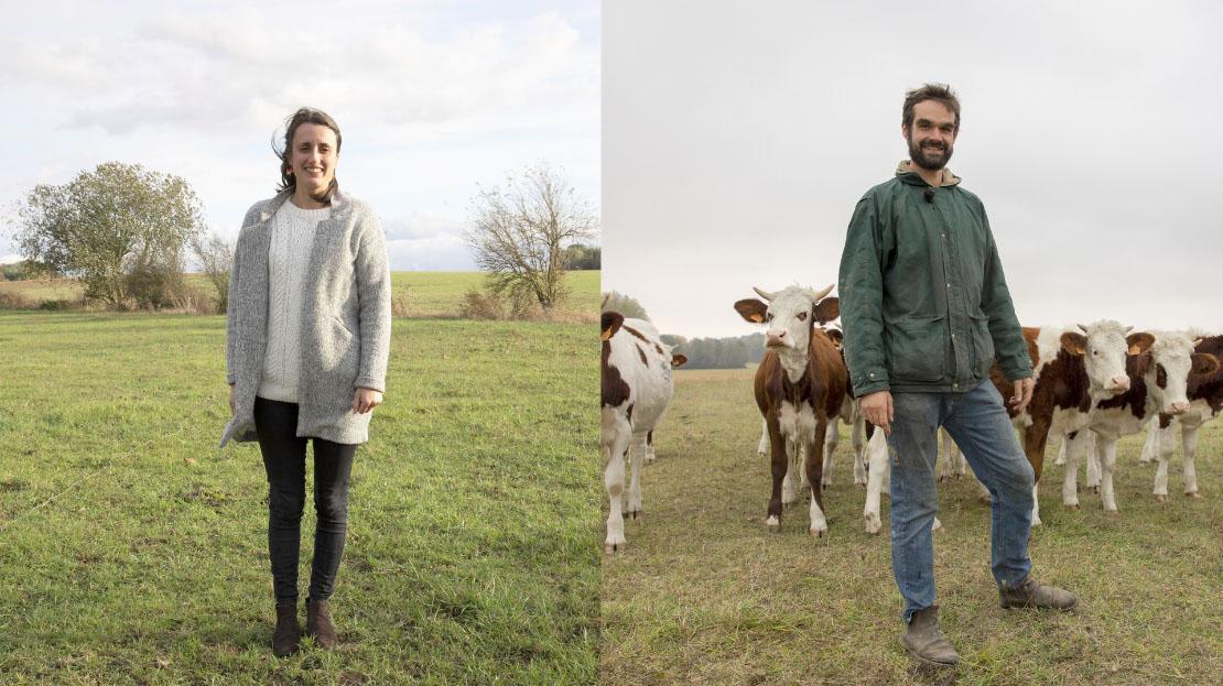 01 – Camille et Nicolas Grymonprez, éleveurs et fromagers, Seine-et-Marne